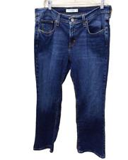 Levis 515 Womens 10 Short Bootcut Jeans Dark Wash Stretch Midrise 34 X 28.5