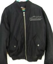 Harley Davidson Men's Jacket Coat Size Small Black