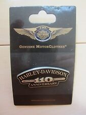 "Harley Davidson Genuine ""110th Anniversary""  Vest/Jacket/Hat Pin (SALE)"