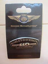 "Harley Davidson Genuine ""110th Anniversary""  Vest/Jacket/Hat Pin (SALE)"