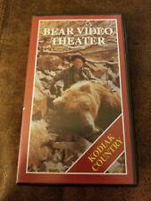 Fred Bear Video Theater Vhs Kodiak Country bear Alaska hunting 7941-501
