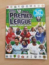 Topps Merlin 2012  Premier League Complete STICKER Album