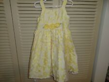Youngland girls yellow dress, size 4, great for Easter!  EUC