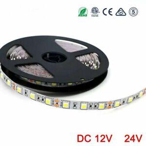 LED Strip RGB 12V 24V 5050 SMD 60LEDs/m LED Light strip 5 M DC 12 24 V Volt leds