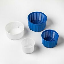 Cheese mold cheese making basket cheese mold and press camembert cheese (4 pcs)