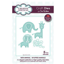 Craft Die CED10025 Sue Wilson New Arrival Collection - Stuffed Animals