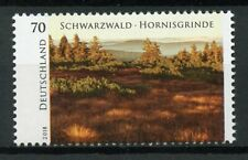 Germany 2018 MNH Schwarzwald Hornisgrinde 1v Set Trees Nature Stamps
