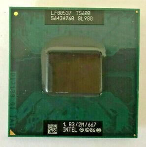 INTEL Core 2 Duo T5600 SL9SG MOBILE - 1,83GHz / 2M / 667MHz - Sockel M #304