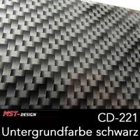 Wassertransferdruck Folie WTD WTP Starterset 4m Carbon CD-221 60 cm + Aktivator