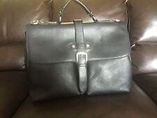 clarks shoulder  Leather Bag Black
