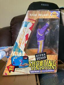 "KOBE BRYANT NBA MATTEL SUPER STARS SHOOTING SENSATIONS 10"" ACTION FIGURE (LAKERS"