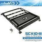 Scale Full Length Roof Rack for SCX10 III Jeep JL Wrangler