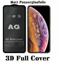3D Matt Panzerfolie iPhone 12 Mini Pro Max Schutzglas Displayschutz 9H Echtglas
