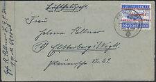 Inselpost Kreta Zulassungsmarke Beleg 1944 Michel 7 A Attest (S11616)