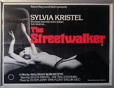 Cinema Poster: STREETWALKER, THE 1976 (Quad) Sylvia Kristel Joe Dallesandro