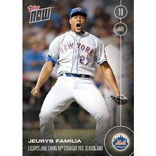 2016 Topps Now #265  Jeurys Familia New York Mets  FREE Shipping Print Run: 460