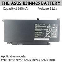 Genuine Laptop Battery 69Wh for ASUS C32-N750 N750JV N750Y47JV N750JK
