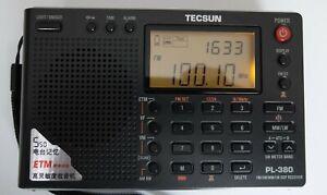 TECSUN PL-380 Shortwave, AM/FM/LW Radio / DSP RECEIVER