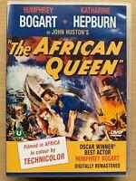 The Africain Queen DVD 1951 Adventure Film Classique avec Humphrey Bogart