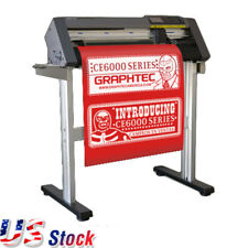 "USA Stock 24"" Graphtec CE6000-60 High Performance Vinyl Cut Cutting Plotter"