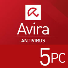 Avira Antivirus Pro 5 PC 2018 3 Jahre VOLLVERSION 5 GERÄTE 2017 DE EU