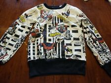1984 Spiderman Youth Sweater New with Tags size 10/12 Marvel Kids RARE RETRO