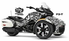 "Can Am Spyder F3T Decal Graphic Wrap kit - ""The Perfect Scribble"""