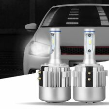 Car H7 G2 LED Headlight Bulbs for Volkswagen VW Golf GTi Passat Holder Adapters