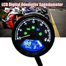 0-12000 RPM Universal Digital LCD Tachometer Drehzahlmesser Speedometer Gauge
