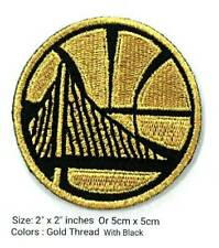 "Golden State Warriors. 2""Logo sport Embroidery Patch, iron,sewing on clothes"
