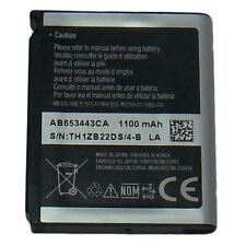 SAMSUNG OEM AB653443CA BATTERY FOR SGH-A597 ETERNITY II 2 SGH-A707 SYNC