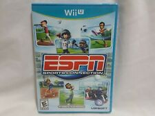 NEW (Read) ESPN Sports Connection Nintendo Wii U Game SEALED football + US NTSC