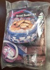 RAGPOINT  1987 New Sealed Basket Making Kit Bread Basket  3-18