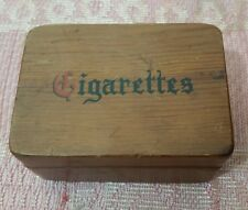 """Cornwall Wood Products """"Cigarettes ....May Be Purchased at the corner store ~GAG"""