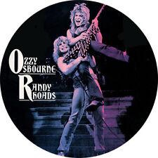 IMAN/MAGNET OZZY OSBOURNE & RANDY RHOADS . black sabbath deep purple hard rock