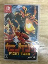 Kanino Kenka -Fight Crab- Nintendo Switch Japanese/English/Chinese Tracking NEW