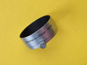Leica Gegenlichtblende FOOKH. Lens shade f. Summaron Elmar 3,5cm.