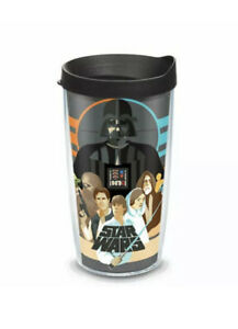 Classic Tervis Star Wars Collage Wrap 24-Ounce Tumbler with Lid. New