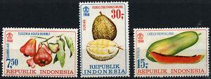 Indonesia 1968 SG#1215-7 Fruits MH Set #C140