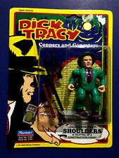 Vintage Dick Tracy Shoulders Action Figure by Playmates 1990 Noc
