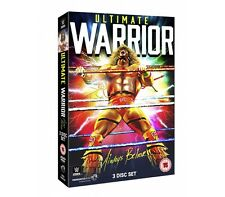 wwe wrestling ULTIMATE WARRIOR ALWAYS BELIEVE  NEW TRIPLO  DVD