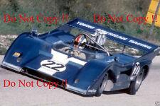 Francois Cevert McLaren M8F Elkhart Lake Can Am 1972 Photograph 1