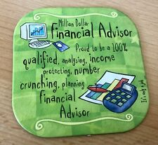 Million Dollar Financial Advisor  Coaster
