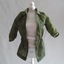 NEW! 2016 Barbie Game Developer Doll Olive Green Jacket ~ Fashionista Clothing
