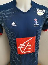 superbe maillot adidas equpe de france  taille s handball