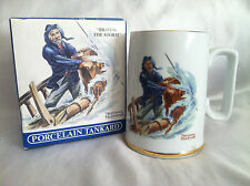 "Seafarers Collection Porcelain Tankard - Norman Rockwell Art ""Braving The Storm"""