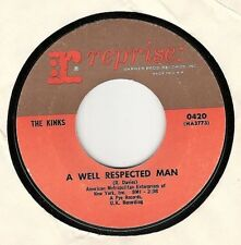45RPM, THE KINKS ' A WELL RESPECTED MAN ' EXC  ROCK
