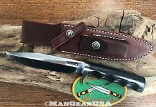 Randall Made Knives Model 5-6, Black Micarta,Finger Grooves,O1 steel. New Knife