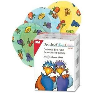 3M Opticlude Orthoptic Eye Patches for Boys & Girls, 5cm x 6.2cm, Pack of 30