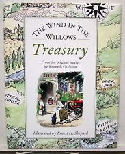 WIND IN THE WILLOWS TREASURY-Grahame/Shepard Hardcover Book- FREE S&H (K4715)